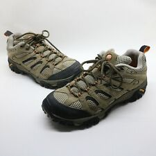 Merrell Walnut Moab Ventilator Mid Vibram Hiking Shoes J86593 Mens Size 9 US