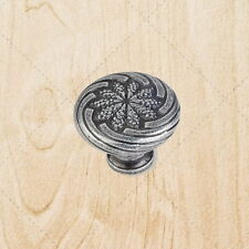 Cabinet Hardware Wheat Knobs ku19 Swedish Iron knob / Pull 1-1/8""