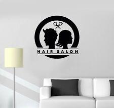 Hair Salon Haar Friseur Beauty Salon Wandtattoo Wallpaper Wand Schmuck 50 cm