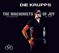 DIE KRUPPS-THE MACHINISTS OF JOY-DELUXE FAN BOX (LIMITED ED.) CD + BONUS CD NEU