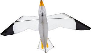 HQ Drachen Kinder Einleiner Seagull 3D Möwe Kite Flugdrachen
