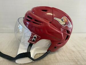 Bauer Re-Akt Pro Stock Hockey Helmet Bauer Visor Combo Medium Maroon 7496