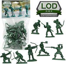 1:32 Robin Hood Men Sherwood Forest Plastic Toy Soldier 16 Figures LOD