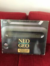 NEO GEO AES JAP COMPLETE BOX + ORIGINAL ARCADE STICK + ALL THE CABLE AND NOTICE