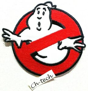 Ghostbusters Halloween Embroidered Jeans Iron/Sew On Patch Dress jacket Badge