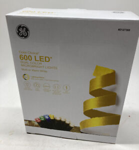 GE Color Choice 600 Ct 124' Color Changing MicroBright LED Light 8 Function