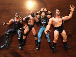WCW Action Figure Lot of 4 Vintage (Lot A)