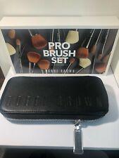 Bobbi Brown Pro Brush 4 Piece Set with Black Brush Case New Ni Box
