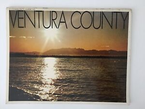 Vtg 1968 A Community Guide To Ventura County By Security First National Bank