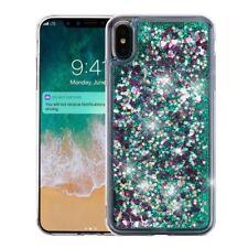 for Apple iPhone XS Max Quicksand Liquid Glitter Skin Case Cover+PryTool