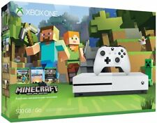 Microsoft Xbox One S Minecraft Favorites Bundle 500GB White Console NEW