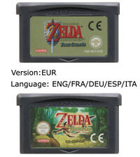The Legend Of Zelda Minish Cap / Four Swords Gameboy Advance GBA EUR