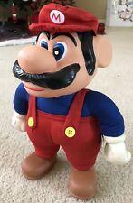 Vintage 1989 APPLAUSE NES Super Mario Bros MARIO Plush Doll Toy COMPLETE