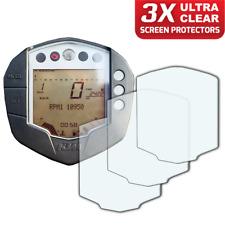 3 x KTM RC125 / RC390 / Duke 125 / Duke 390 Screen Protector: Ultra-Clear