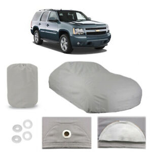 Chevrolet Tahoe 4 Layer Car Cover Fitted In Out Door Water Proof Rain Sun Dust