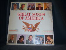"Columbia SP XTV-88801 Various Artists - Great Songs Of America 1960's 12"" 33 RPM"