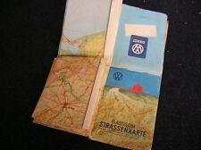 1949 VOLKSWAGEN 3 DIMENSIONAL MAP VW KDF COX BUG KÄFER HEB BREZEL VOLKSWAGENWERK