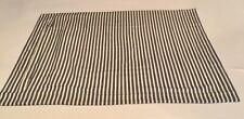 New Pottery Barn Stripe Standard Pillow Sham Navy Blue White Stripe