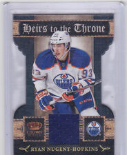 2011-12 Crown Royale Heirs To The Throne Materials #23 Ryan Nugent-Hopkins