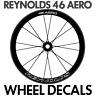 REYNOLDS 46 AERO Wheel Decals Stickers for 46mm bike bicycle road wheels