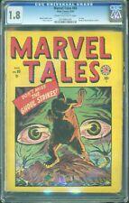 Marvel Tales #93 CGC 1.8 Atlas 1949 1st Issue! Marvel Mystery Comics! Rare L6 cm