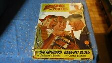 Pulp Magazine Baseball Stories  Spring Issue 1946 Note the cover Wear