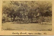 Cemetery Surat,  India. 2 Albumen Prints 1867 & 1875