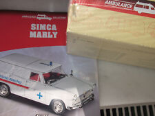 Atlas Ambulance Collection  Simca Marly  mit OVP + Datenblatt 1:43