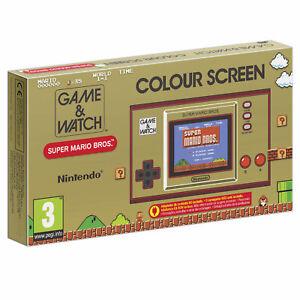 Game & Watch Super Mario Bros German n Dutch box ingame Full Englis New & Sealed