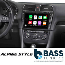 "Alpine i902D-G7 Volkswagen Golf MK7 9"" DAB Bluetooth CarPlay Android Screen"