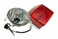 New, 4 Stroke 4T Tail Light & Head Light For Vespa Px Lml Star Stella