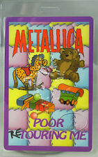 Metallica 1998-99 Reload Laminated Backstage Pass