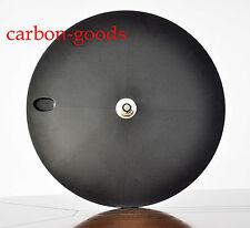 Full Carbon Disc wheel Tubular hub Rear Road Bike TT bicycle Wheel Shimano 700C
