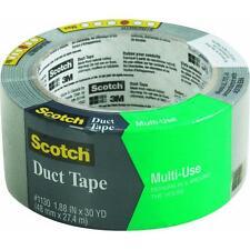 "24 Pk 3M Scotch 1.88"" X 30 Yd Gray Duct Tape 1130-A"