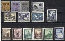 AUSTRIA 1918-40's AIR MAILS Sc. C1-3 C55 USED PLUS C54, C55, C60 PLUS C47-C53