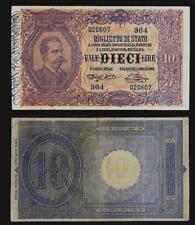 10 Lire Umberto I Dell'Ara/Pia 1889 q. SPL