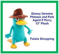 "FALALA GENUINE DISNEY PHINEAS AND FERB AGENT P PERRY 13"" SOFT TOY PLUSH"