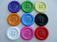 "9 x 50mm ASSORTED LARGE CLOWN  BUTTONS SIZE 80 (2"")"