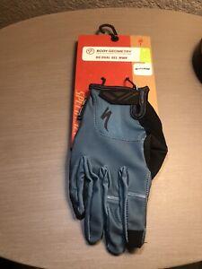 Specialized BG Dual Gel Glove LF Womens Medium Dusty Turquoise Cycling MTB