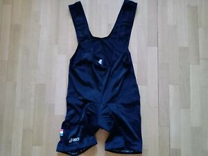 Cycling Asics Black Bib Shorts Size 'XXL' Padded & Stretched Excellent