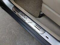 For Mitsubishi Outlander Accessories Car Door Sill Scuff Plates Protector Guard