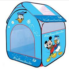 New Donald Duck u0026 Mickey Mouse Baby Child Play Dollhouse / Toy Tents Blue  sc 1 st  eBay & Mickey Mouse u0026 Friends Outdoor Play Tents | eBay