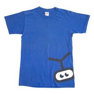Playstation 2 Eye Toy Tshirt   Vintage Video Game Console Blue Small VTG