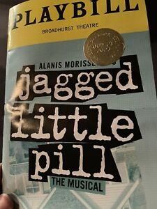 jagged little pill re opening night broadway musical playbill morissette