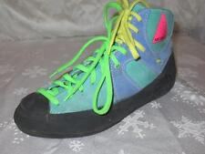RARE!! MERRELL Womens MULTICOLOR SUEDE Double Lace BOOTS Shoes Size 6 *WOW!!*