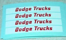 Matchbox Dodge Twin Tipper Truck Stickers       MB-K16A