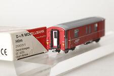 D+R Model Railway H0m 20031 Geäckwagen Dz 4231 Rhb Red Chur-Arosa (73593)