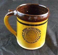 DAKOTA STONEWARE BUSHNELL SD Coffee Mug FORT ATKINSON State Historical Park  BG