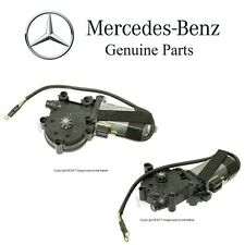For Mercedes R129 SL600 SL W124 Pair Set of 2 Front Electric Window Motors OES