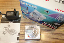 Sharp MS701 Metall Klassiker  Minidisc MD Player.  (52) + Karton + AL + NT